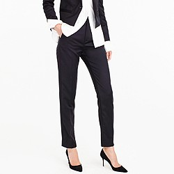 Collection tuxedo pant in Italian wool
