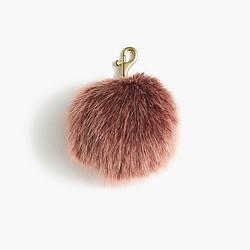 Faux-fur pom-pom