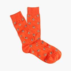 Gingerbread man socks