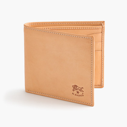 IL Bisonte® leather card wallet