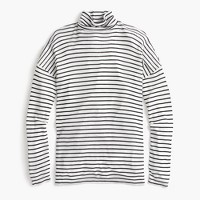 10 percent deck turtleneck in stripe