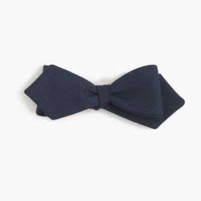 American wool bow tie