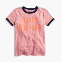 "Boys' ""heartbreaker"" T-shirt in the softest jersey"
