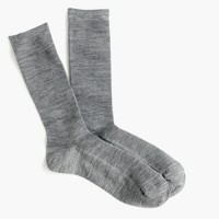 Ribbed trouser socks