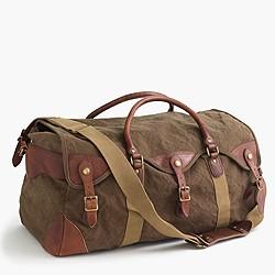 Wallace & Barnes canvas weekender bag