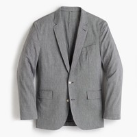 Unstructured Ludlow blazer in stretch cotton