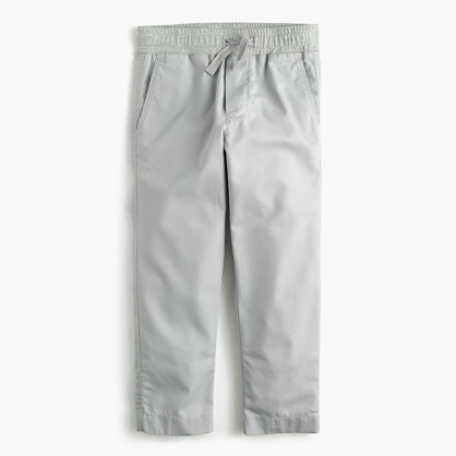 Pre-order Boys' lightweight chino pull-on pant with reinforced knees