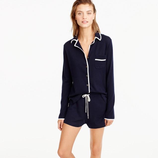 Italian cashmere pajama set