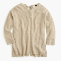 Italian cashmere tie-back sweater