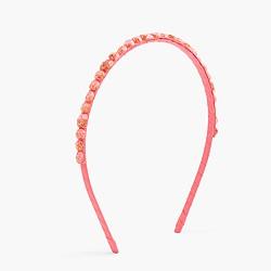 Girls' glitter jewel headband