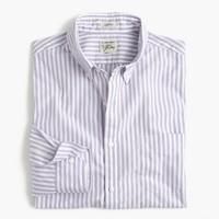 Secret Wash shirt in lavender stripe
