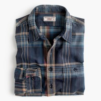 Wallace & Barnes madras naval workshirt