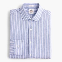 Thomas Mason® for J.Crew Ludlow shirt in striped linen