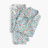 Short-sleeve pajama set in Liberty® Edenham floral