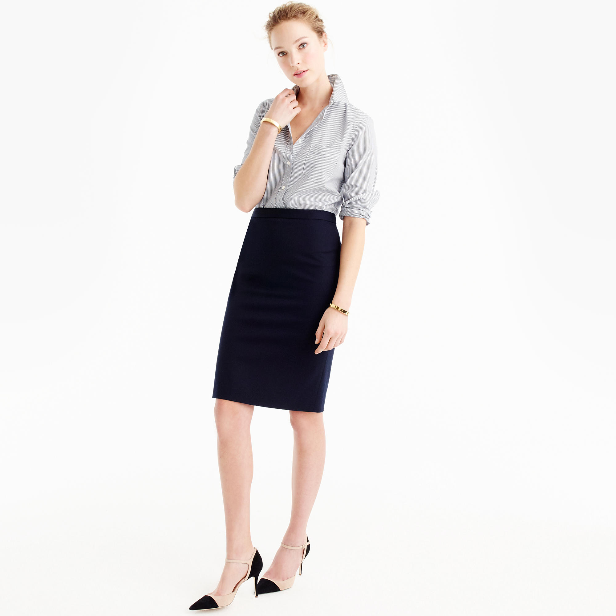 Pencil Skirt In Super 120S Wool : Women's Suit Skirts | J.Crew