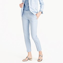 Petite paley pant in Italian cotton