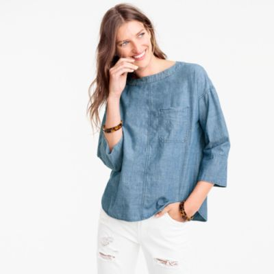 Chambray swing top