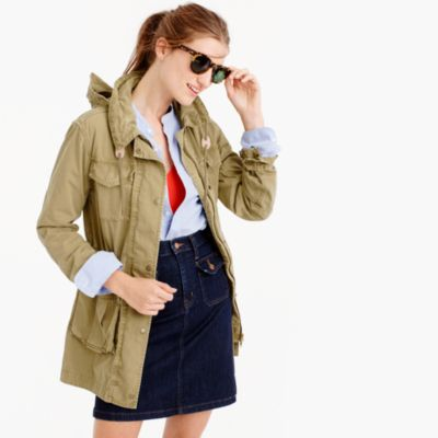Petite fatigue jacket