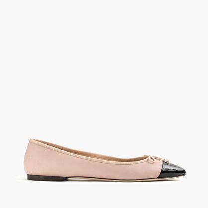 Gemma cap-toe flats