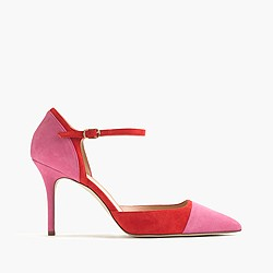 Elsie cap-toe pumps