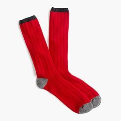 Italian cashmere socks