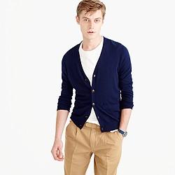 Lightweight Italian cashmere cardigan