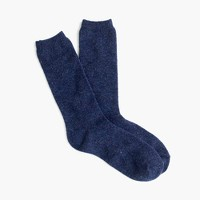 Textured trouser socks