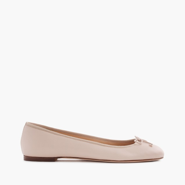Camille ballet flats in leather