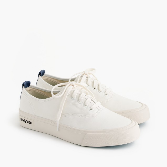 SeaVees® for J.Crew Legend sneakers in piqué cotton