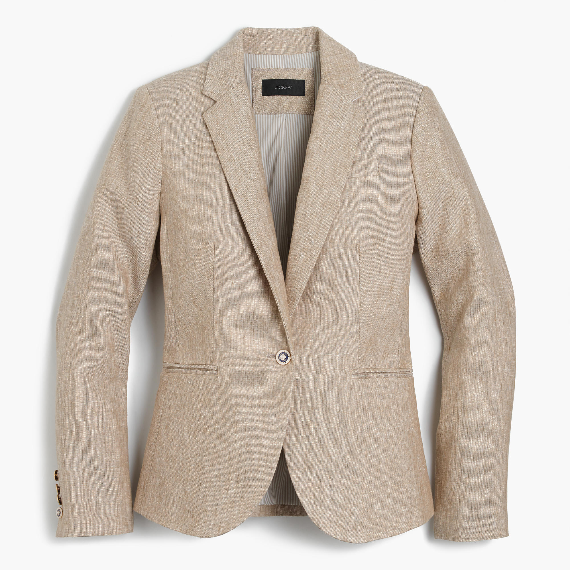 Campbell Blazer In Linen : Women Blazers