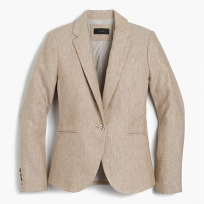 Campbell blazer in linen