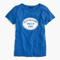 Italian travel logo T-shirt