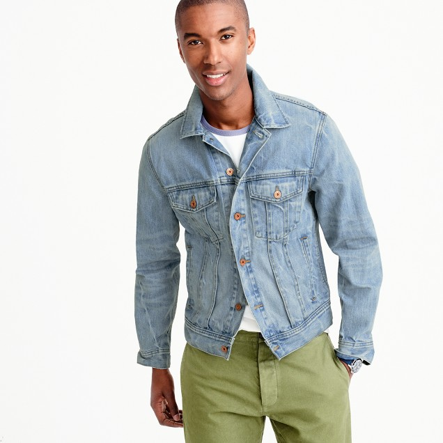 Find light denim jacket men at ShopStyle. Shop the latest collection of light denim jacket men from the most popular stores - all in one place.