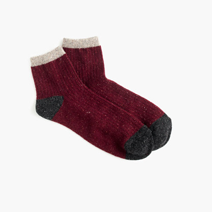 Colorblock ankle socks