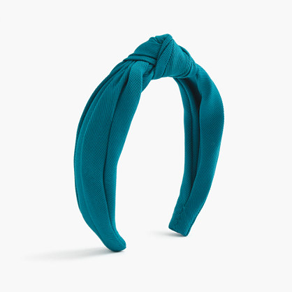 Grosgrain topknot headband