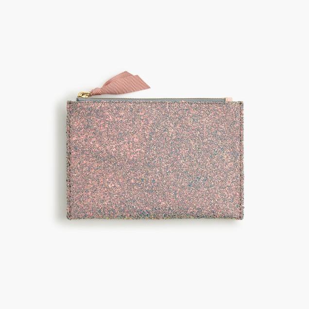 Medium glitter pouch