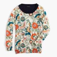 Tippi sweater in ornate floral