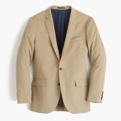 Ludlow suit jacket in Italian stretch chino