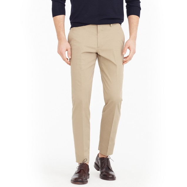 Ludlow suit pant in Italian stretch chino