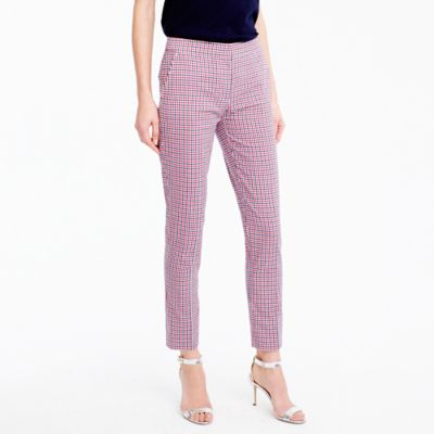 Paley pant in red tattersall