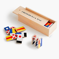 Fredericks & Mae flag dominoes