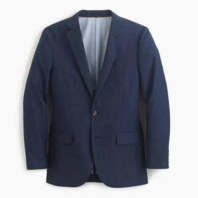Ludlow suit jacket in Italian cotton oxford