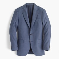 Ludlow wide-lapel suit jacket in Italian worsted wool