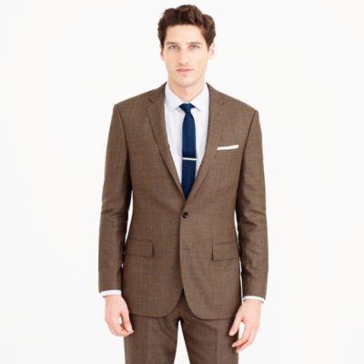 Ludlow suit jacket in herringbone American wool