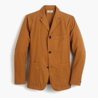 Wallace & Barnes unstructured workwear suit jacket in cotton