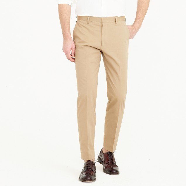 Crosby suit pant in Italian stretch chino