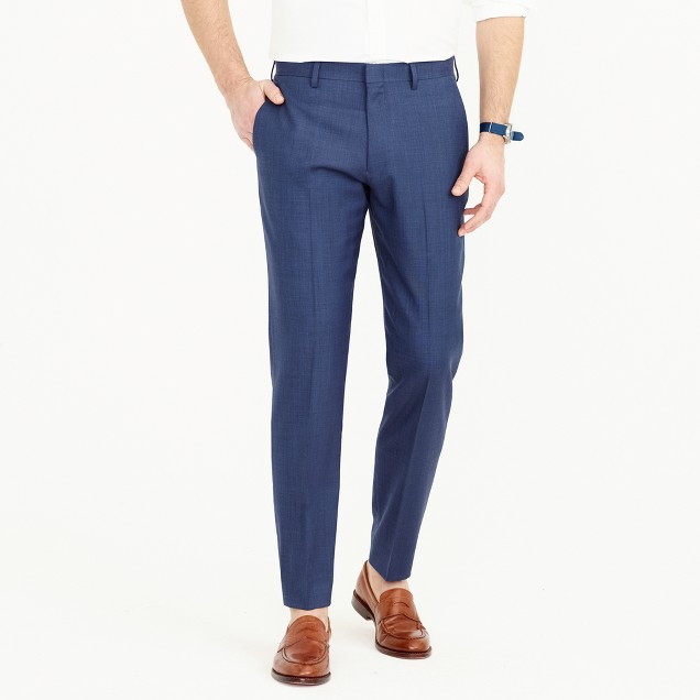 Crosby suit pant in Italian stretch worsted wool