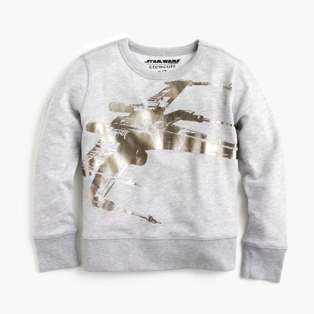 Kids' Star Wars™ for crewcuts X-wing sweatshirt