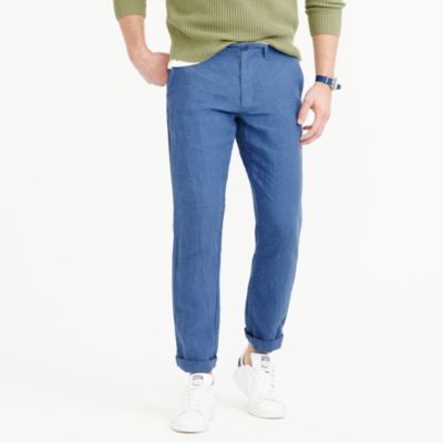 Irish linen chino pant in 770 straight fit