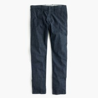 Chambray stretch chino pant in 484 slim fit